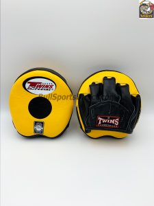 Twins-PML-13 Punching Mitts-Yellow/Black