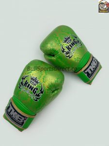 Top King Boxing Super Snake Collection Green and Gold