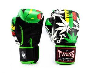 Twins Boxing Gloves-FBGV-54-Grass