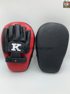 K-Focus Mitts-Large-Black/Red