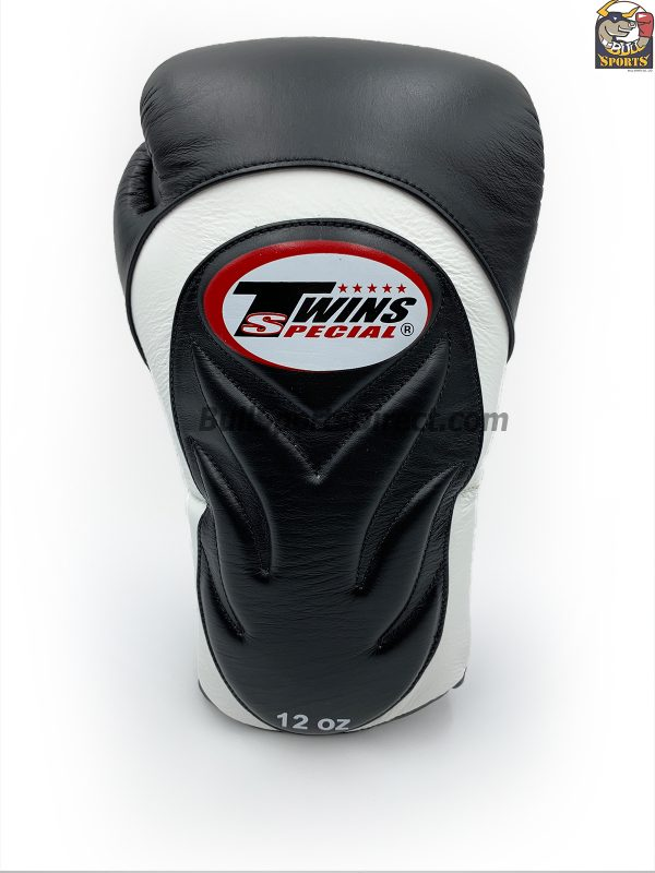Twins Special Boxing Gloves BGVL-6 Black White