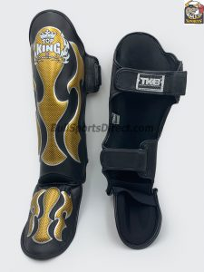 Behind Top King Muay Thai Shin Pads Empower01