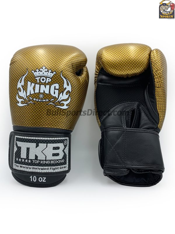 Gold and black Top King Boxing Gloves Empower creativity 2