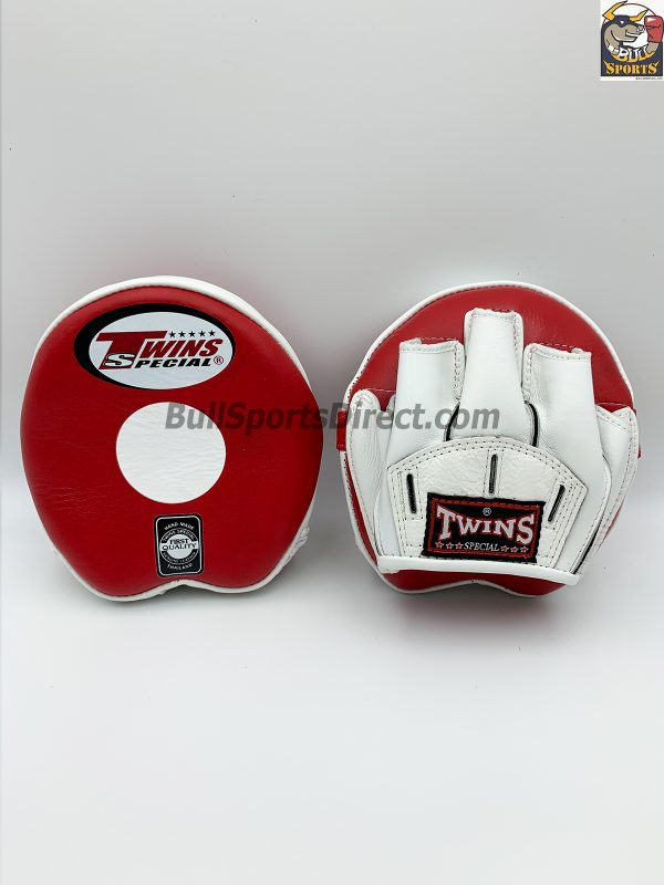 Twins-PML-13 Punching Mitts-Red/White