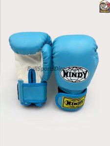 Windy Light Blue Boxing Gloves BGVH+K