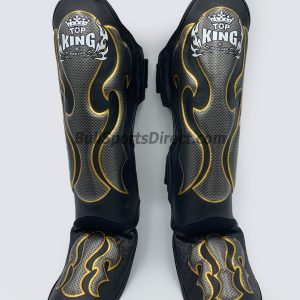Top King pro Muay Thai Shin Pads Empower01