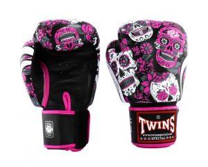 Twins Fancy Boxing Gloves FBGV53-Skull