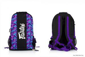 Fairtex Camo Purple Backpack-BAG4