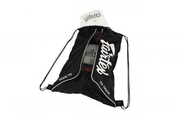 BAG6 Black Sach Bag- Fairtex