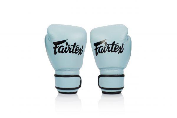 New Fairtex BGV20 Genuine Light Blue Boxing Gloves
