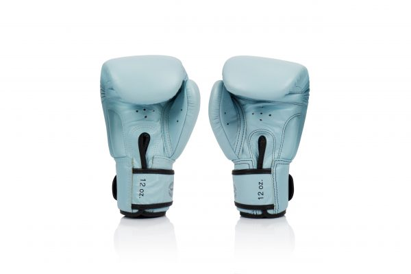 Fairtex BGV20 Light Blue Tight-Fit Design Boxing Gloves