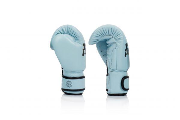 New Fairtex BGV20 Genuine Pastel Boxing Gloves - Light Blue
