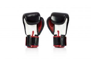 Fairtex BGV1-3T Boxing Gloves - Black White Red