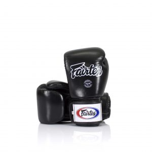 Fairtex BGV1 Universal Black Gloves Tight-Fit Design