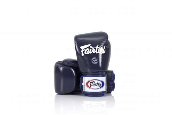 Fairtex BGV1 Universal Blue Gloves Tight-Fit Design