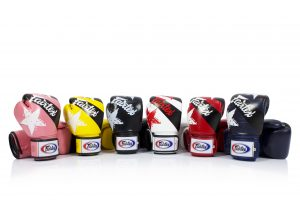 Fairtex Microfiber Boxing Gloves BGV1 Nation Gloves