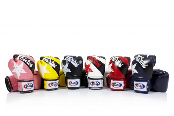 Fairtex Microfiber Boxing Gloves BGV1 Nation Gloves