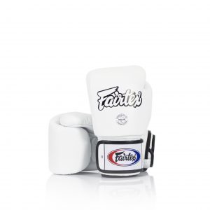 Fairtex BGV1 Universal White Gloves Tight-Fit Design