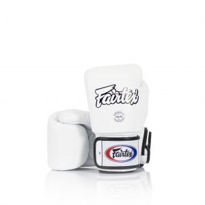 Fairtex BGV1 Universal White Gloves Tight-Fit Design
