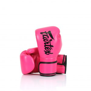 Fairtex Microfiber Gloves BGV14 Pink and Black