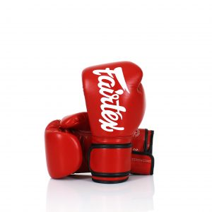 Fairtex Lightweight Microfiber Boxing Gloves BGV14 Red