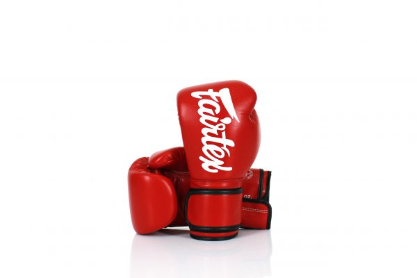 Fairtex Lightweight Microfiber Boxing Gloves BGV14 Red