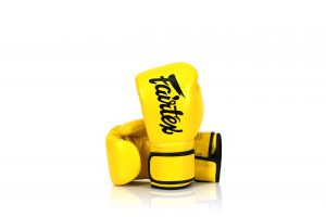 Fairtex Microfiber Gloves BGV14 Yellow