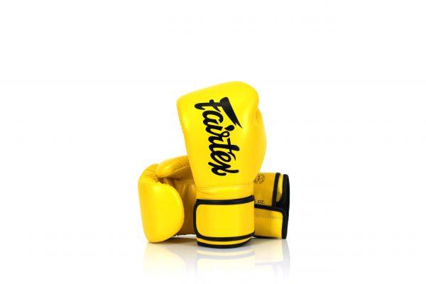 Fairtex Microfiber Gloves BGV14 Yellow