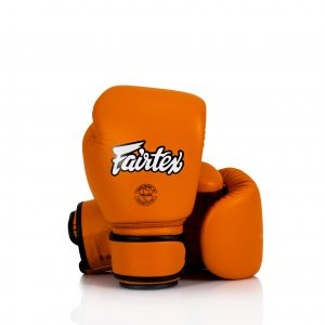 Fairtex BGV16 Orange Compact Size Boxing Gloves