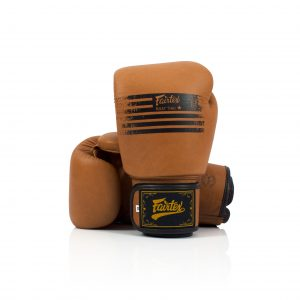 Fairtex BGV21 Muay Thai Classic Brown Boxing Gloves