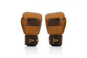 Fairtex BGV21 Muay Thai Legacy Boxing Gloves - Classic Brown