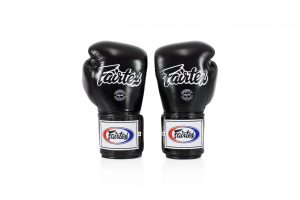 Fairtex Black Boxing Gloves BGV5