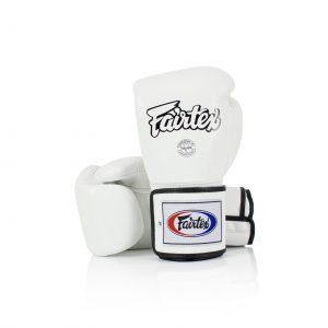 Fairtex Boxing Gloves BGV5 Super Sparring Gloves White Leather