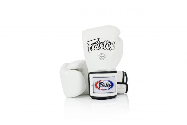 Fairtex Boxing Gloves BGV5 Super Sparring Gloves White Leather