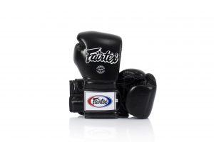 Fairtex Muay Thai Boxing Gloves BGV9 Black