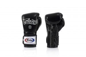 Fairtex Muay Thai Black Boxing Gloves BGV9