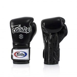 Fairtex Muay Thai Black Boxing Gloves BGV9