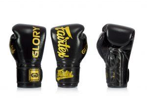 Fairtex X Glory Black Competition Gloves – Velcro