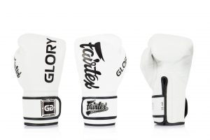 Fairtex X Glory White Competition Gloves – Velcro