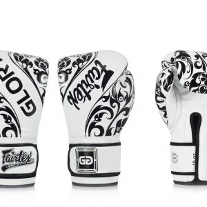 Fairtex BGVG2 White Gloves - Velcro