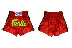 Fairtex -BS0602 Muay Thai Shorts-Red