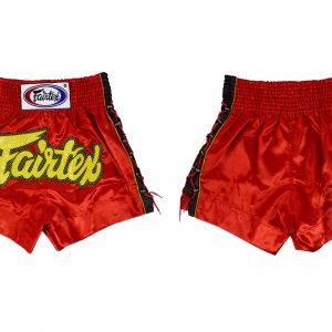 Fairtex -BS0602 Muay Thai Shorts-Red