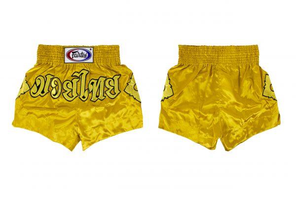 Fairtex -BS0608 Muay Thai Shorts -Gold