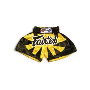 Fairtex Muay Thai Shorts-Bumblebee