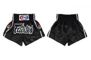 Fairtex Muay Thai Shorts-Red Eagle Rank