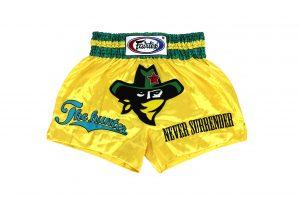 Fairtex Muay Thai Shorts-The Hunter
