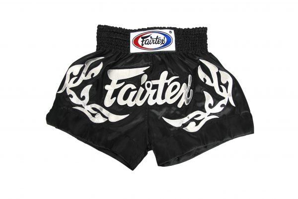 Fairtex Muay Thai Shorts-Eternal Silver
