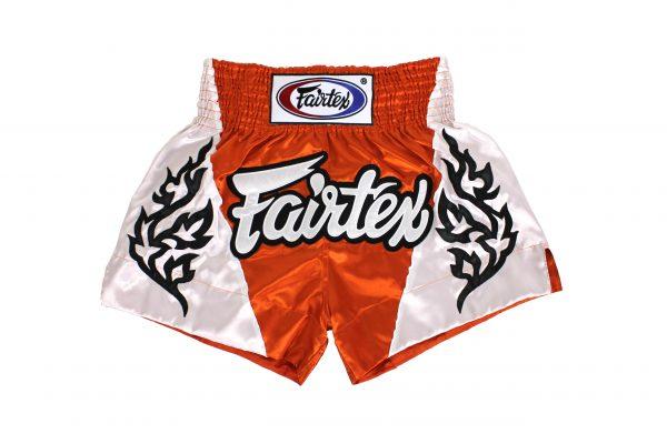 Fairtex Muay Thai Shorts-Tropical Orange
