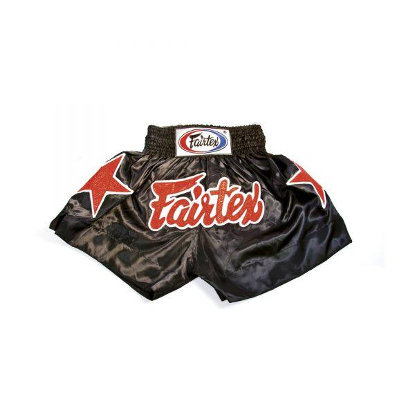 Fairtex Muay Thai Shorts-Two Tones Black