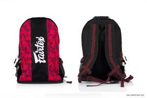 Fairtex BAG4 Camo Red Backpack